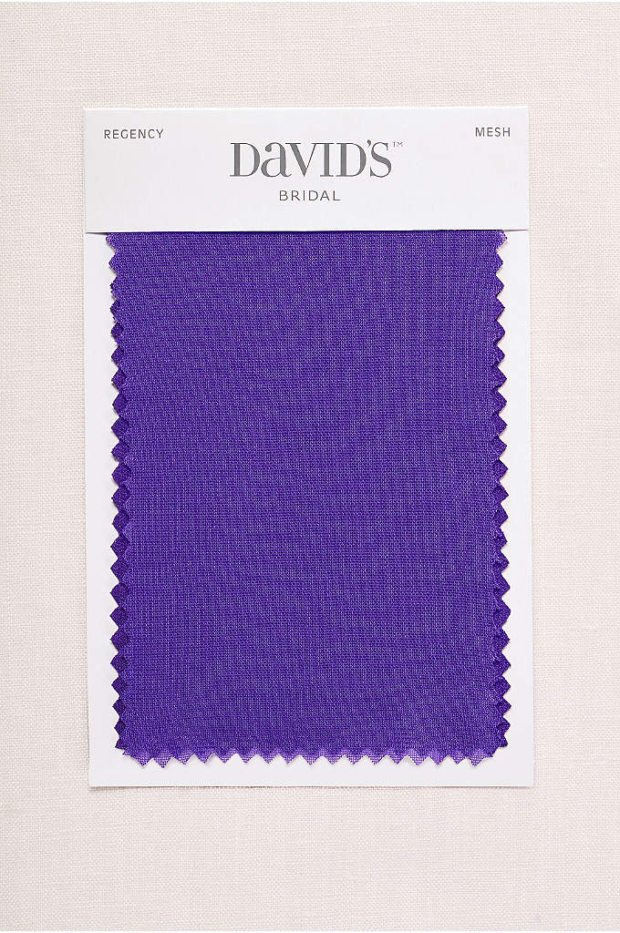 Regency Fabric Swatch - Available in all of David's Bridal's exclusive colors,