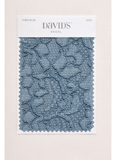 Steel Blue Fabric Swatch - Available in all of David's Bridal's exclusive colors,