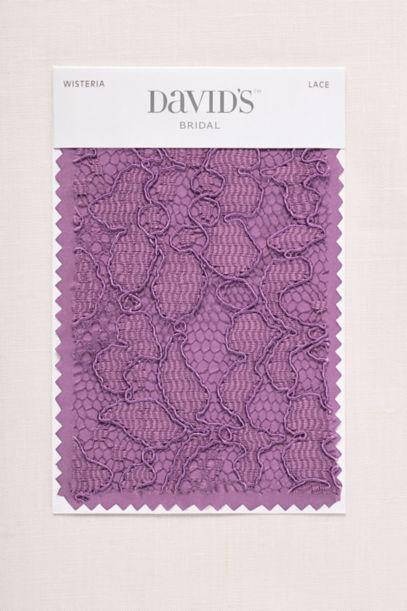 Wisteria Fabric Swatch David S Bridal