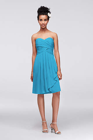 Malibu Blue Bridesmaid Dresses | David\'s Bridal