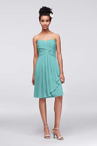 Turquoise Blue Bridesmaid Dresses You\'ll Love | David\'s Bridal
