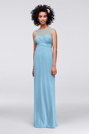 Long Sheath Wedding Dress - David's Bridal