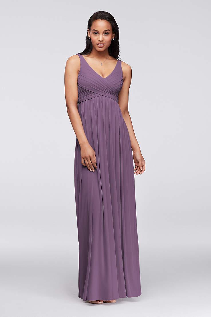 Lilac Lavender Bridesmaid Dresses David S Bridal