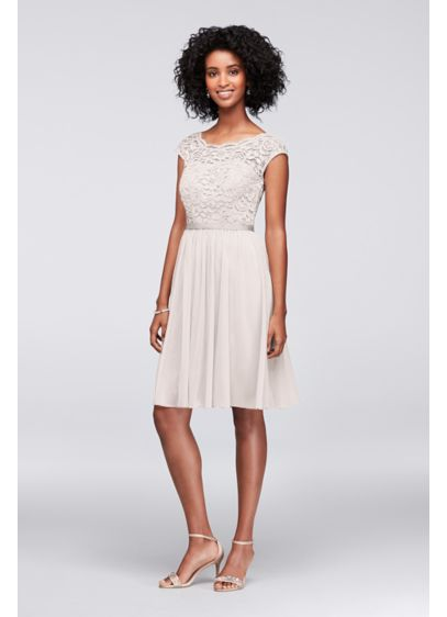 Short A-Line Beach Wedding Dress - David's Bridal