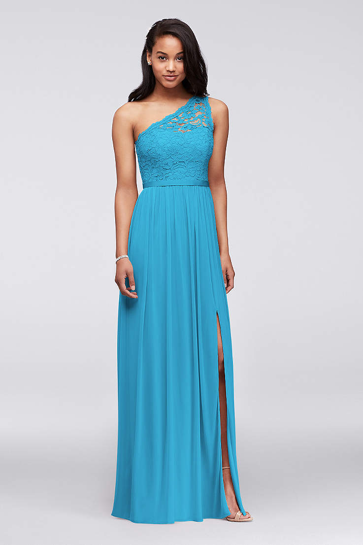 Malibu Blue Bridesmaid Dresses David S Bridal