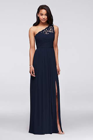 Marine Bridesmaid Dresses & Gowns | David\'s Bridal
