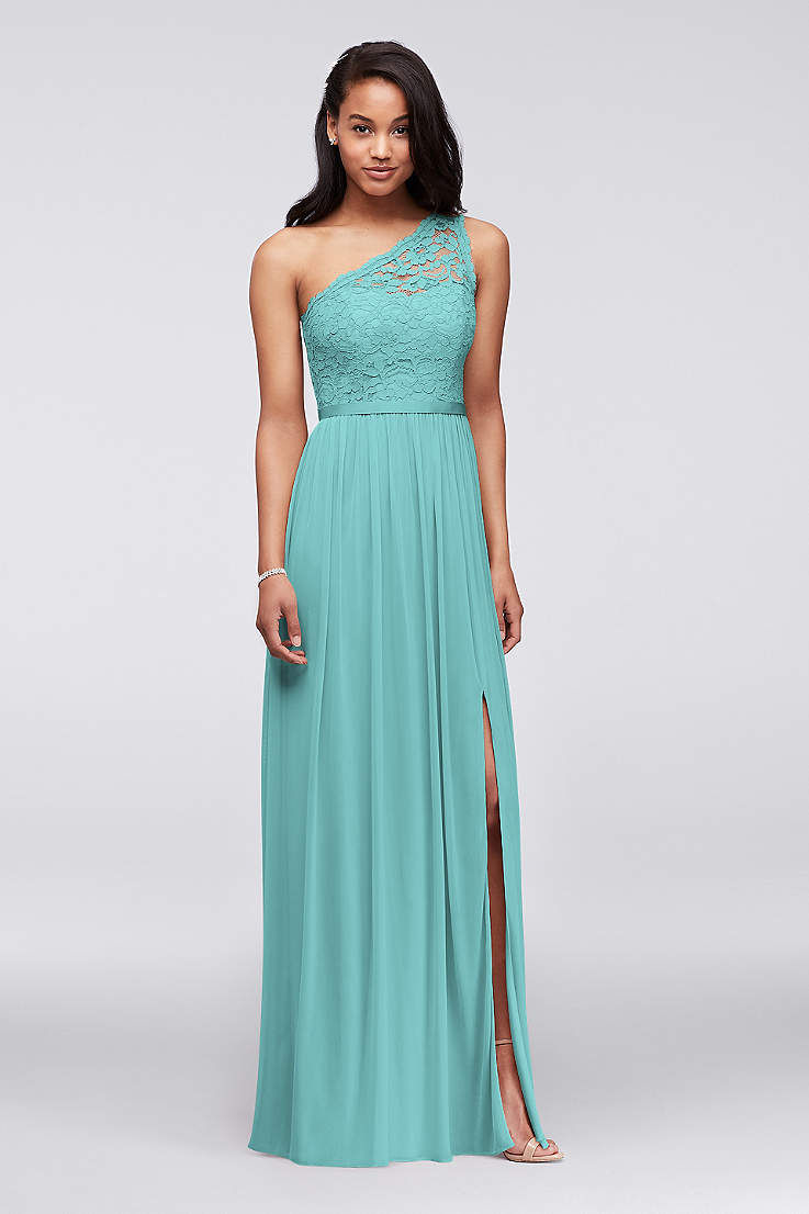 Turquoise Blue Bridesmaid Dresses You Ll Love David S Bridal