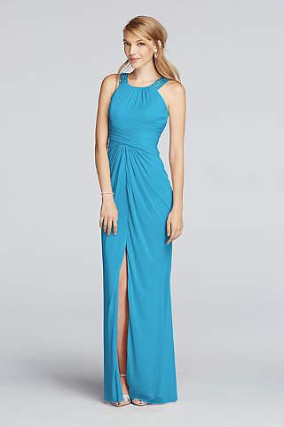 Blue Bridesmaid Dresses: Pale & Dark Blue | David\'s Bridal