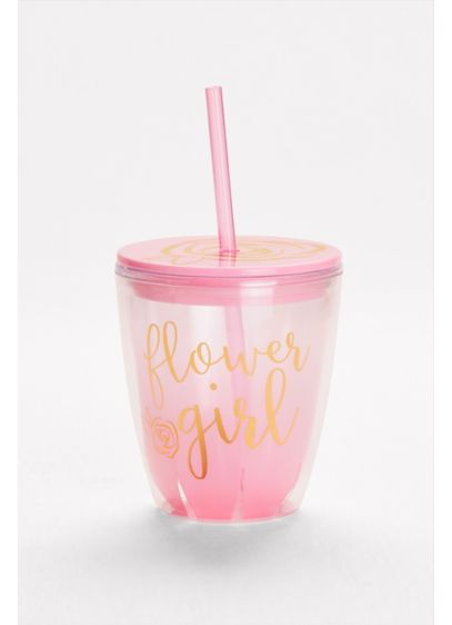 Flower Girl Insulated Tumbler - Wedding Gifts & Decorations