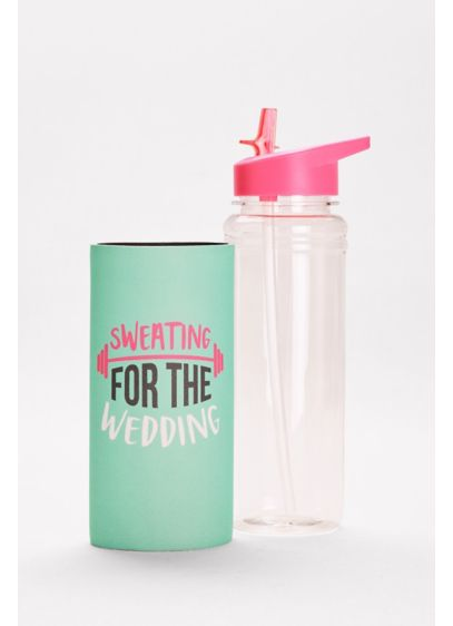 Sweating for the Wedding Water Bottle - Wedding Gifts & Decorations