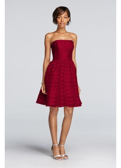 Short Black Soft & Flowy Bridesmaid Dress