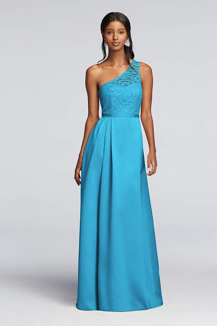 Teal Color Bridesmaid Dresses