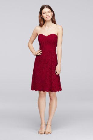 Flowy Strapless Sweetheart Dress