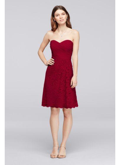 Short Blue Soft & Flowy Bridesmaid Dress