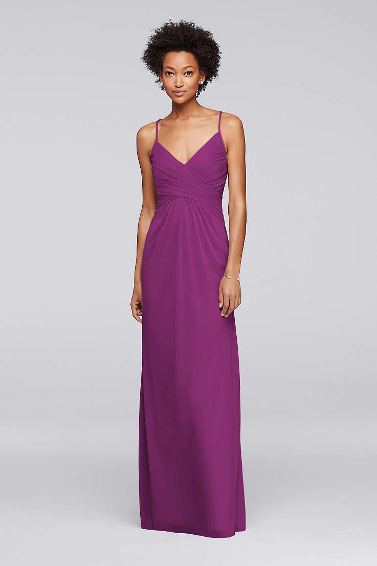 Purple Bridesmaid Dresses Light Dark Colors David S Bridal