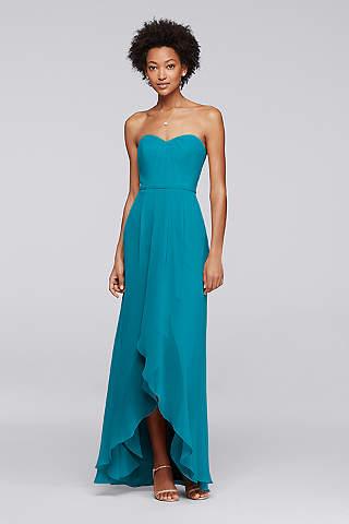 Teal Bridesmaid Dresses: Short & Long Styles   David\'s Bridal
