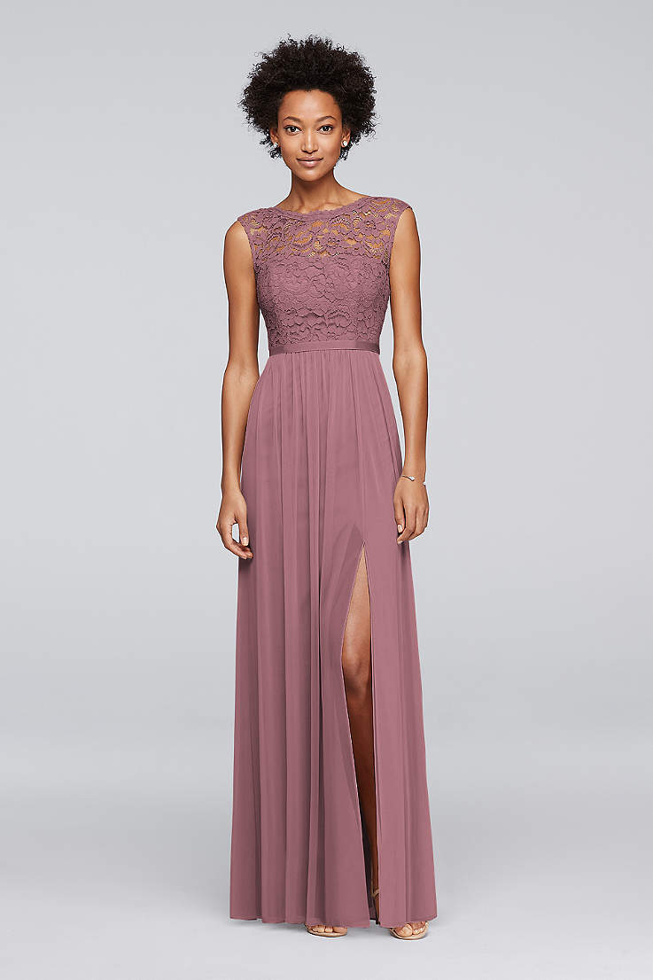 Quartz Mauve Bridesmaid Dresses and Gowns | David's Bridal