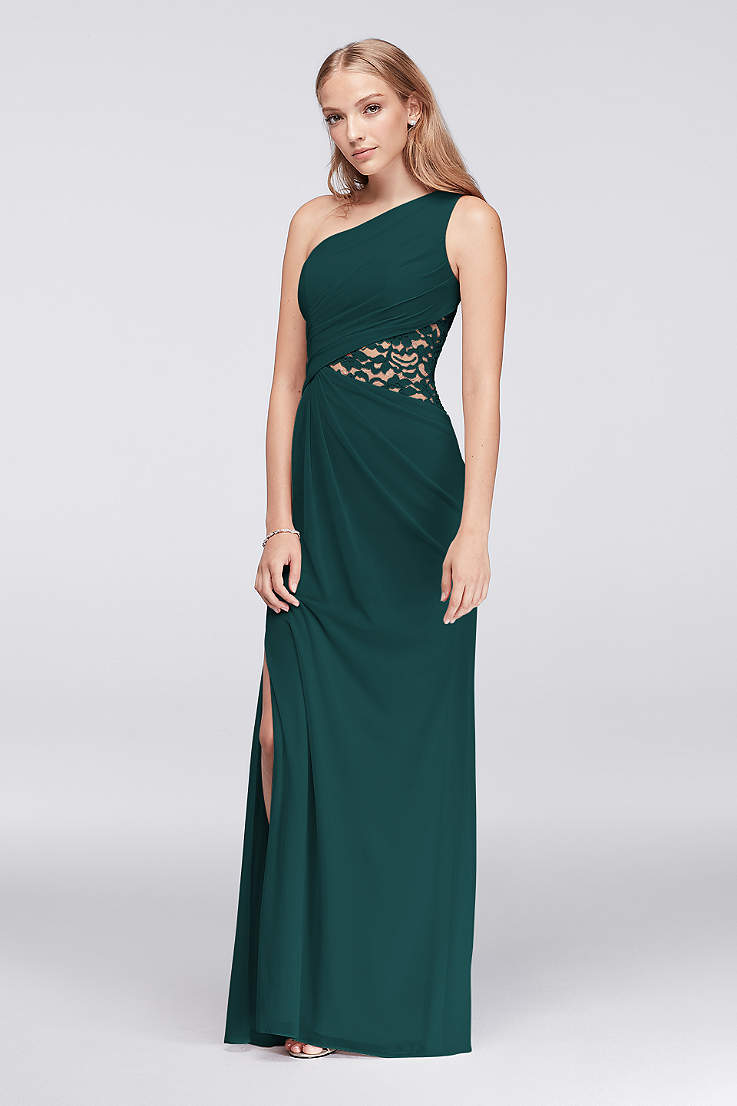61a3d2db31f Green Bridesmaid Dresses - Emerald, Forest, Mint Gowns | David's Bridal