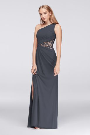 Soft & Flowy;Structured Long Bridesmaid Dress