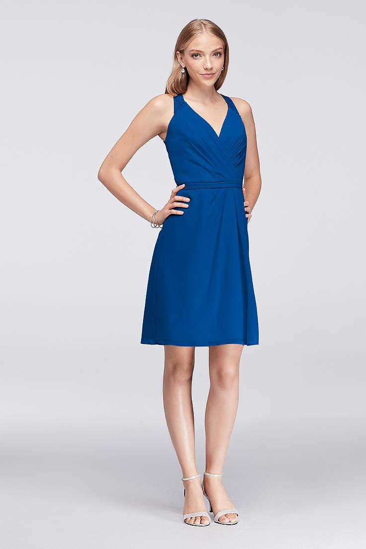 92ebfbdbec458 Royal Blue Bridesmaid Dresses: Short & Long | David's Bridal