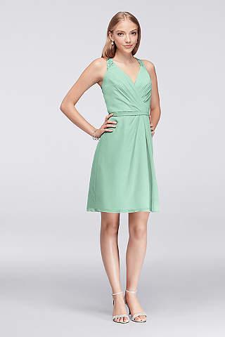 Mint Green Bridesmaid Dresses Gowns Davids Bridal