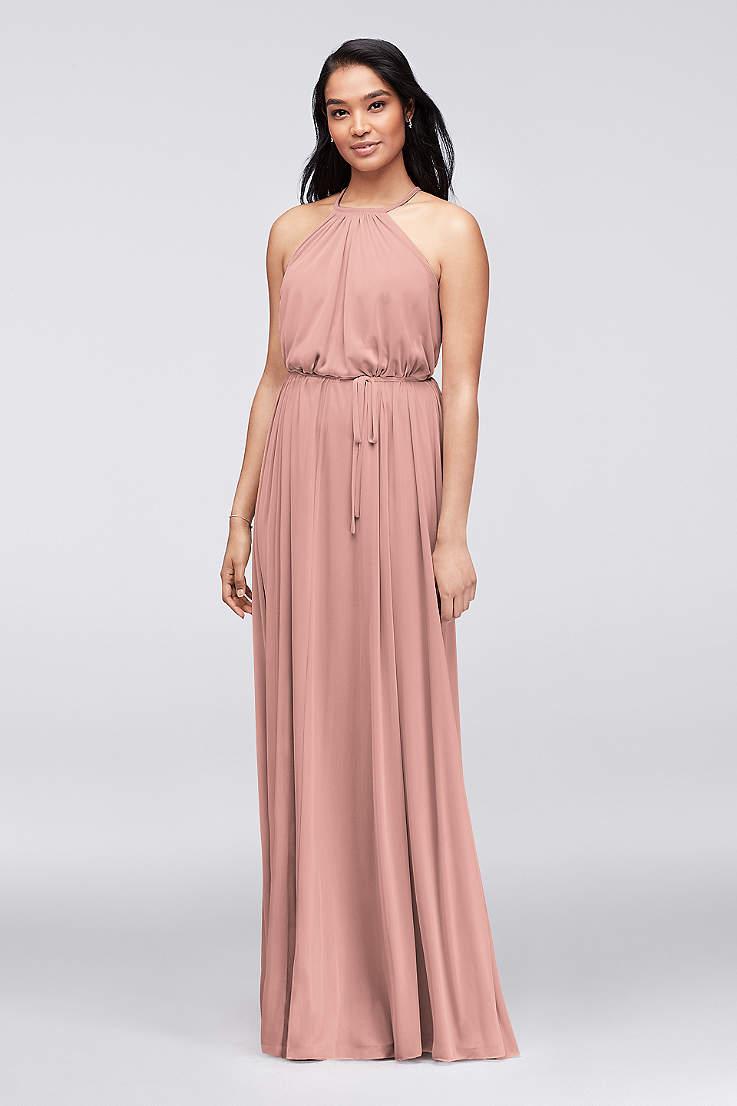 5eee60bb6a45c Blush Bridesmaid Dresses - Blush Pink Colored Dresses | David's Bridal