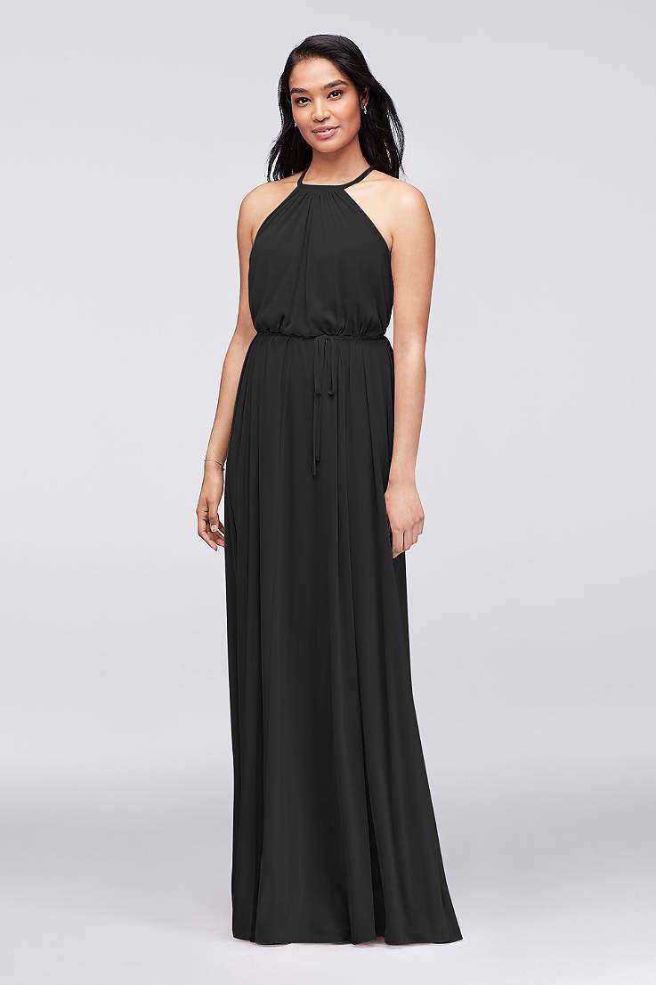 02cc3f4b6dbd Black Evening Dresses & Gowns: Short & Long | David's Bridal