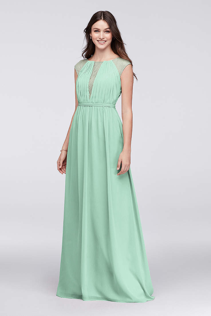 fdfa2d39835c Mint Green Bridesmaid Dresses & Gowns | David's Bridal