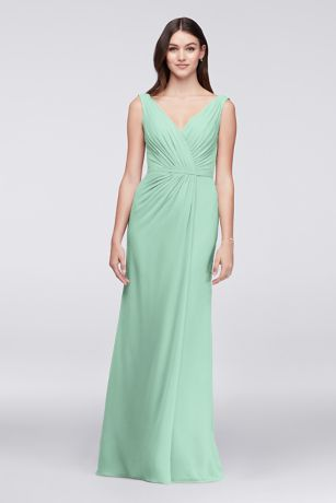 Green Bridesmaid Dresses Emerald Forest Mint Gowns
