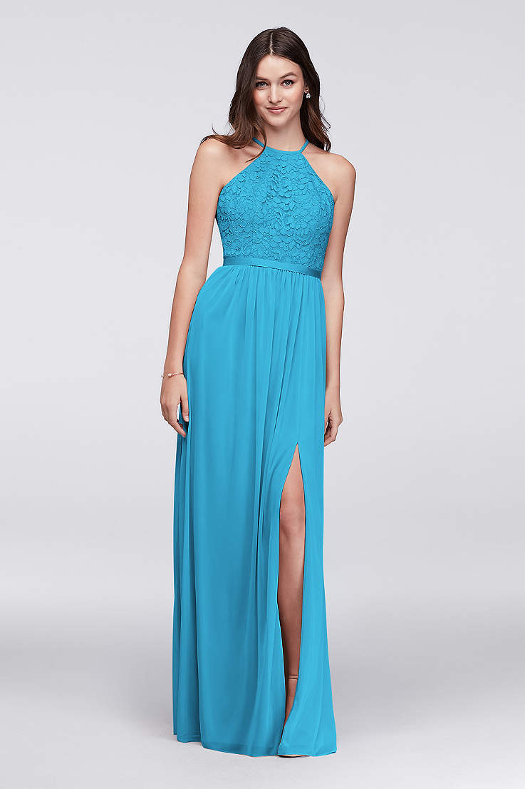 Malibu Colored Bridesmaid Dresses Fashion Dresses