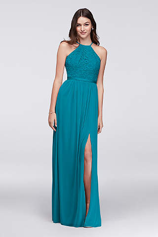 Teal Bridesmaid Dresses: Short & Long Styles | David\'s Bridal