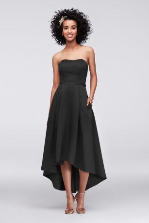 High Low Ballgown Strapless Dress - David's Bridal