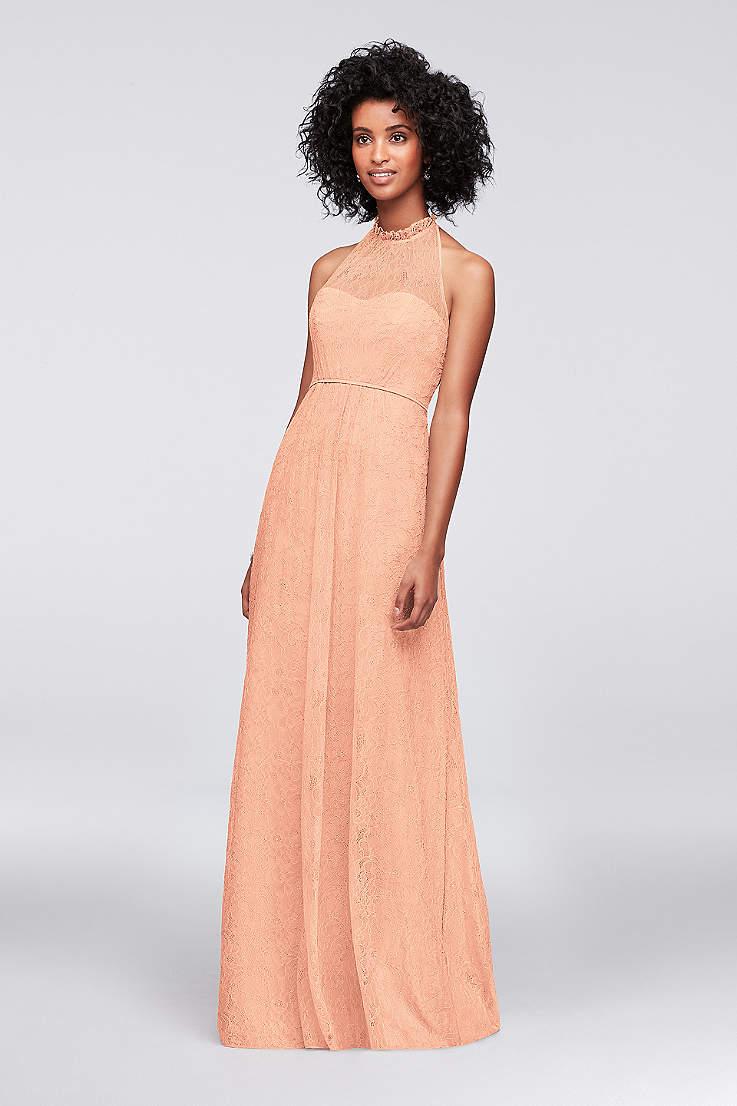 4f9fc8e783 Peach Colored Bridesmaid Dresses | David's Bridal