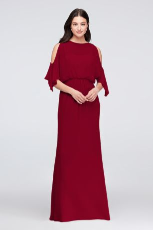 Cold Shoulder Dresses for Wedding