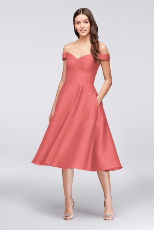 5f37b641216f6 Coral Bridesmaid Dresses - Salmon, Melon, Coral Formal Gowns ...