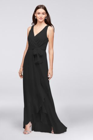 ef9de676d8b7 Black Evening Dresses & Gowns: Short & Long | David's Bridal