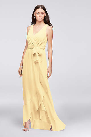 Yellow Bridesmaid Dresses in Pale, Light and Bold Shades | David\'s ...