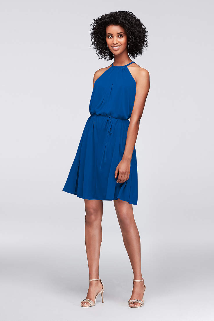 f11d642ff925 Royal Blue Bridesmaid Dresses: Short & Long | David's Bridal