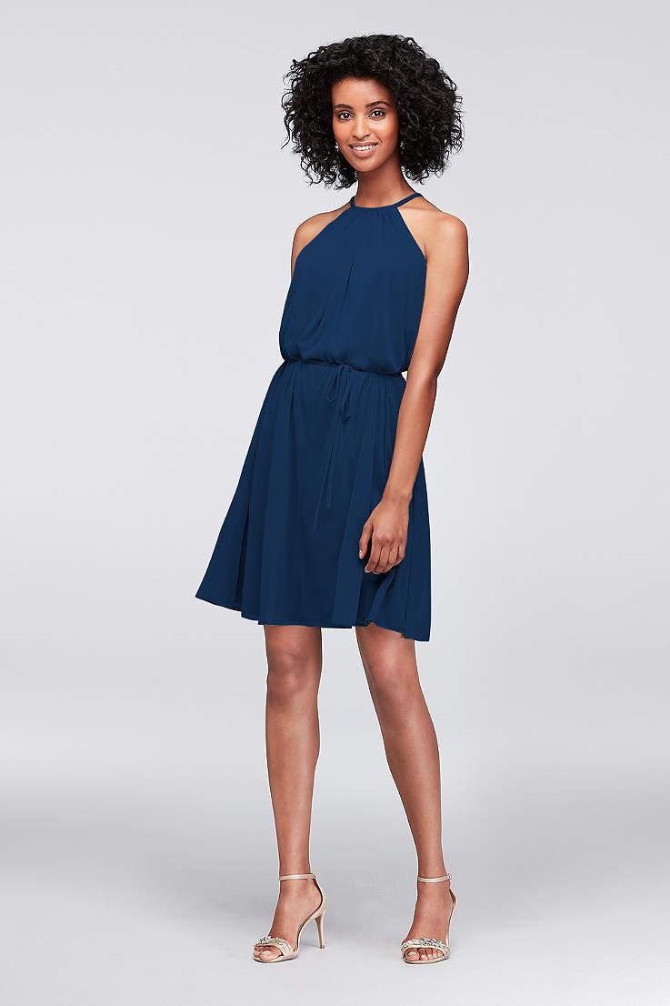 25d99fd594 Navy Blue Bridesmaid Dresses for Weddings | David's Bridal