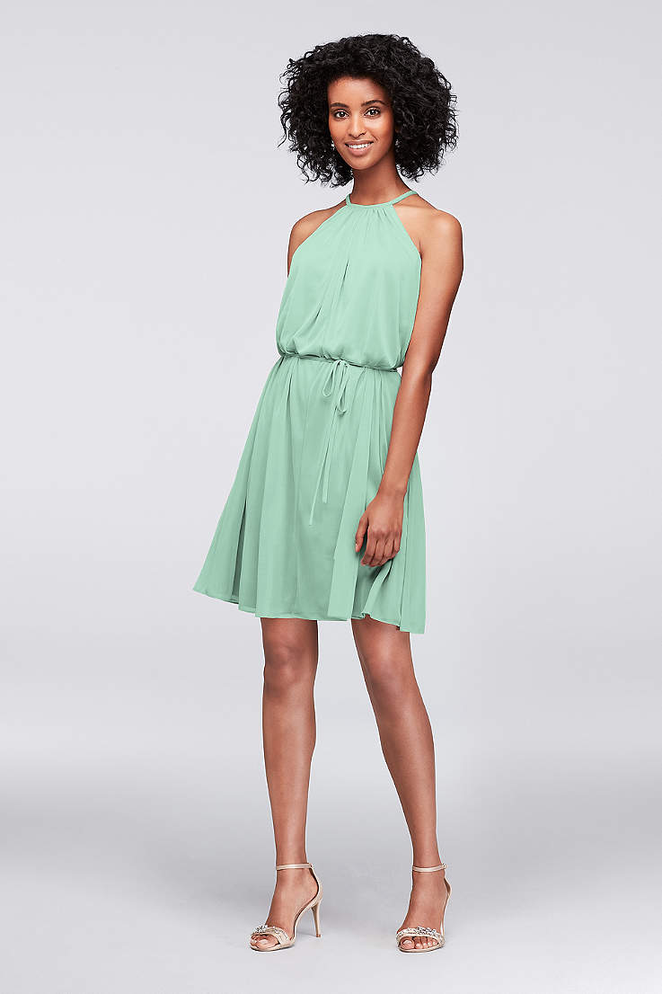 f2ead668128b Mint Green Bridesmaid Dresses & Gowns | David's Bridal