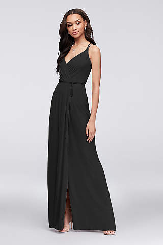 Black Evening Dresses & Gowns: Short & Long | David\'s Bridal