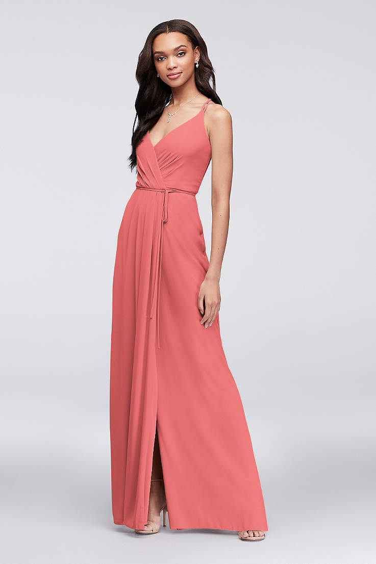 2cbd3128b9093 Pink Prom Dresses: Blush, Light & Hot Pink Gowns | David's Bridal
