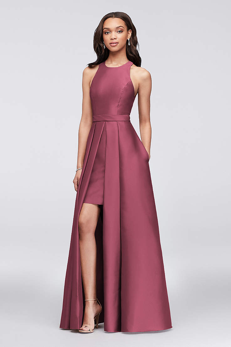 371cef4a6ad64 Red Dresses: Prom & Cocktail Dresses | David's Bridal