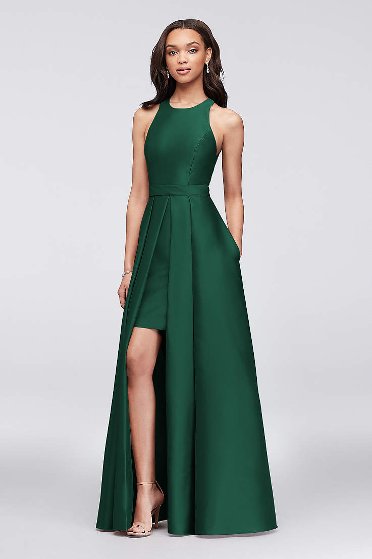 bcc1174531148 Green Bridesmaid Dresses - Emerald, Forest, Mint Gowns | David's Bridal