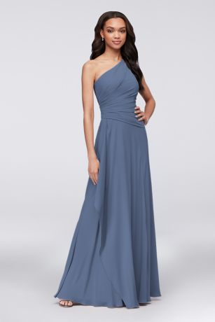 Dusty Blue Bridesmaid Dresses In Long Short Amp Sleeve