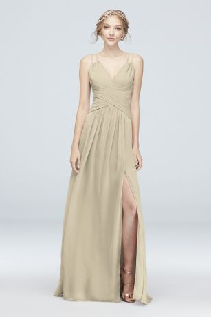 a2549423087c Champagne Colored Bridesmaid Dresses | David's Bridal