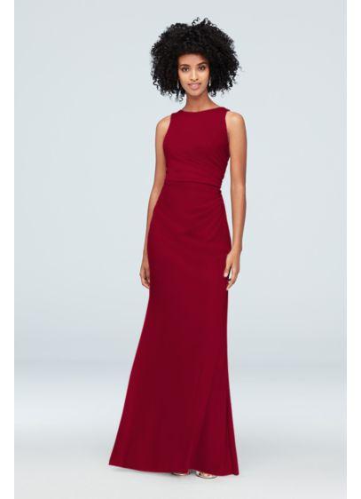 Long Sheath Modern Wedding Dress - David's Bridal