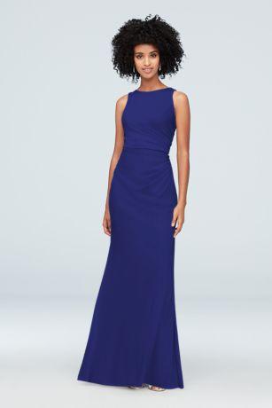 24c29508d8 Soft   Flowy David s Bridal Long Bridesmaid Dress