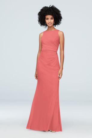 0d32de880 Coral Bridesmaid Dresses - Salmon, Melon, Coral Formal Gowns ...