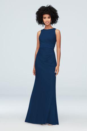 728d54bf298bc Navy Blue Bridesmaid Dresses for Weddings | David's Bridal